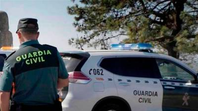 Agente de la Guardia Civil. | E.P.