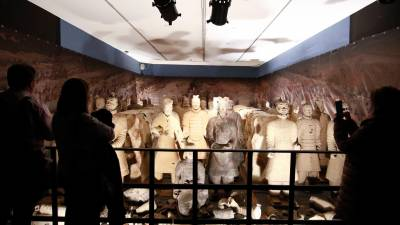 "Exposición ""Terracotta Warriors. The army of the first emperor of China"". 