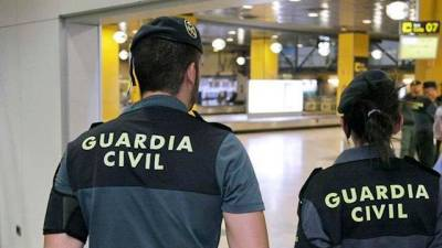 Agentes de la Guardia Civil. | E.P.